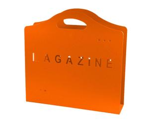 Zeitungshalter Magazine, orange, B 39 cm