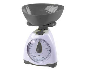Küchenwaage Balance, weiß/grau