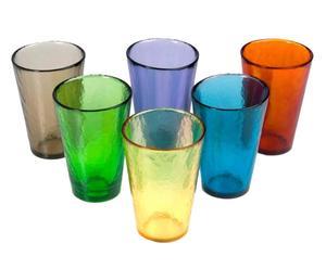 Handgefertigtes Gläser-Set September, 6-tlg., H 13 cm