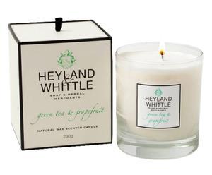 candela profumata te' verde e pompelmo - 230 gr