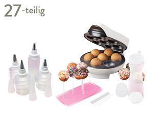 Cake-Pop-Maschine Auxilia mit Zubehör, 27-tlg.
