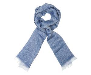 Schal Lipari, blau, 65 x 190 cm