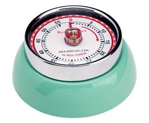 Küchenuhr Timer, mintgrün, Ø 7 cm