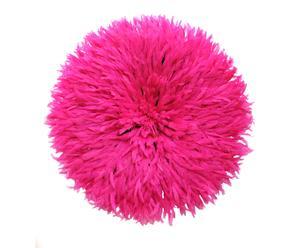 Federhut Juju, pink, Ø 50 cm