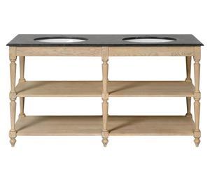 Waschbeckenunterschrank-Regal Swindon, B 160 cm
