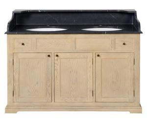 Waschbeckenunterschrank-Regal Swansea, B 140 cm