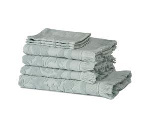 Handtuch-Set Elegance, 7-tlg., grün
