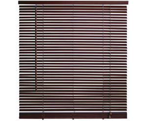 Holz-Jalousie braun, B 70 cm