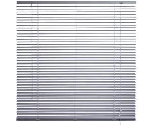 Aluminium-Jalousie silber, B 80 cm