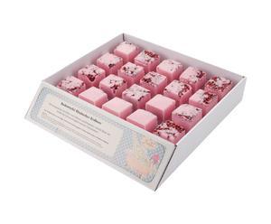 Set de 20 sales-cubos de baño – Rhabarber Erdbeere