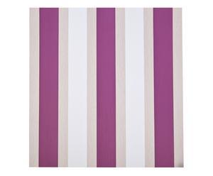 Set de 4 rollos de papel pintado Santiago – morado, blanco y beige