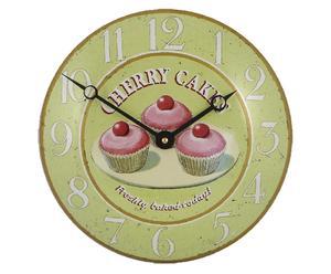 Reloj de pared Cupcakes - Ø26,5 cm
