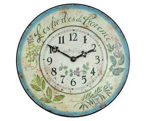 Reloj Les Herbes de Provence - Ø 36 cm