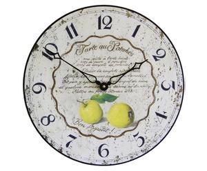 Reloj de pared Tarta de Manzana - Ø36 cm