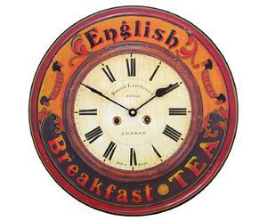 Reloj de pared English Breakfast - Ø36 cm