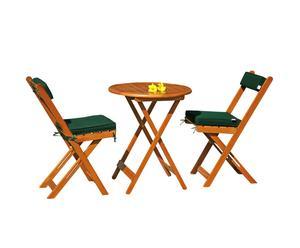 Set de muebles de jardín Korsika
