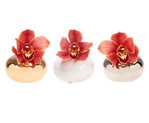 Set de 3 floreros ovalados Jojo