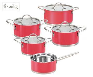 Batería de cocina – Rojo