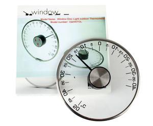 Set de dos termómetros Inomhus – vidrio