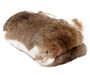 Manta de piel de conejo