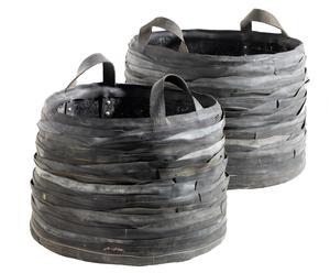 Set de 2 cestos Monkier