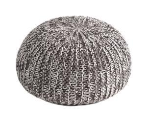 Puf esférico - gris