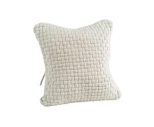 Cojín de algodón -  blanco
