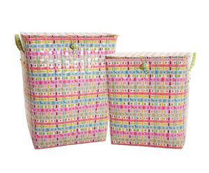 Set de 2 cestas de la ropa Hannah