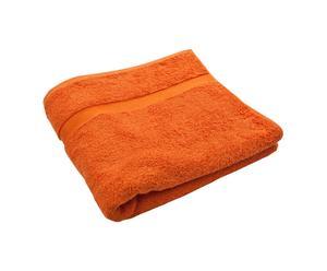 Toalla de ducha XL Princess – Naranja