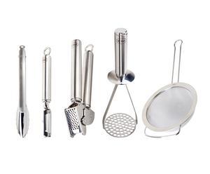 Set de cinco utensilios de cocina