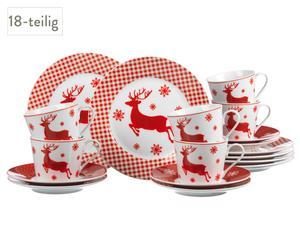 Servicio de café Nordic Christmas