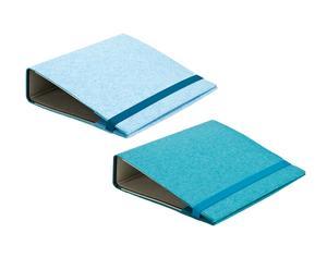 Set de 2 fundas para dosier – azul claro y azul
