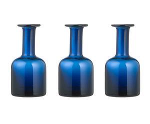 Set de 3 jarrones Lena, azul marino – Pequeño