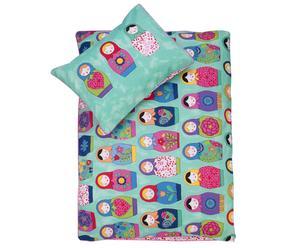 Set de ropa de cama para niños Russian Dolls - 140x200