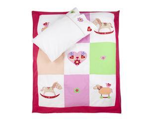 Set de ropa de cama para bebés Pretty Pony - 100x135