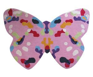 Alfombra para niños Mariposa