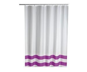 Cortina de ducha Tropic - Púrpura