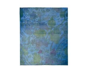 Alfombra tejida a mano Nemoh Refreshed, azul - 297 x 249 cm