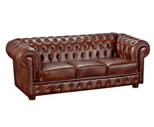 Sofá de 3 plazas Chesterfield Escocia
