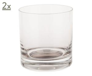 Set de 2 vasos de whisky Timeless