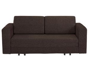 Sofá cama Doppio – marrón oscuro
