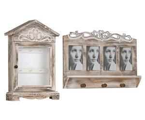 Set de armario para llaves y perchero Rosalie