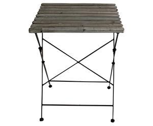 Mesa plegable de madera JARDIN – gris