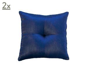 Set de 2 cojines Addison, azul oscuro - 35x35
