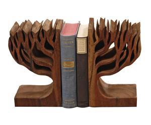 Set de 2 sujeta libros Zola