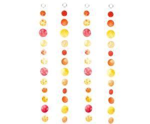 Set de 4 guirlandas Aurai – multicolor