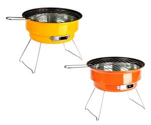 Set de 2 parrillas BBQ – amarillo y naranja