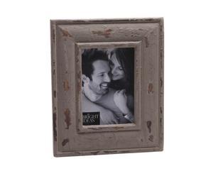 Bilderrahmen Beige Vintage Wood, 10 x 21 cm