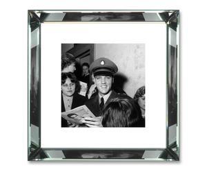 Foto Elvis Prestley con marco de espejo – 47x47