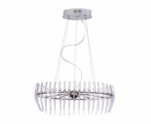 Lámpara de techo Ora, transparente - pequeña